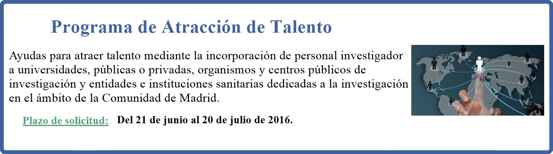 Programa de Atracción de talento
