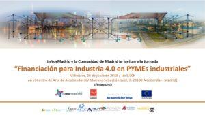 "Jornada financiacion para industria 4.0 - Jornada ""Financiación para Industria 4.0 en PYMEs industriales"""