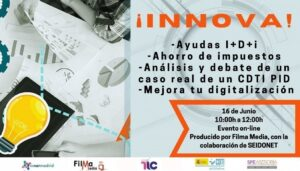 Portada definitiva 3 300x171 - Evento ¡Innova! 16 junio